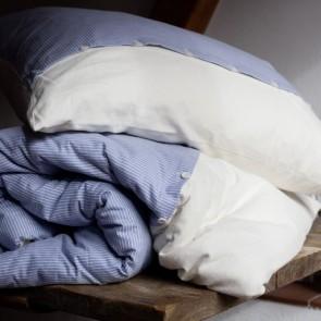 Edelbiber Bettwäsche Streifenflanell